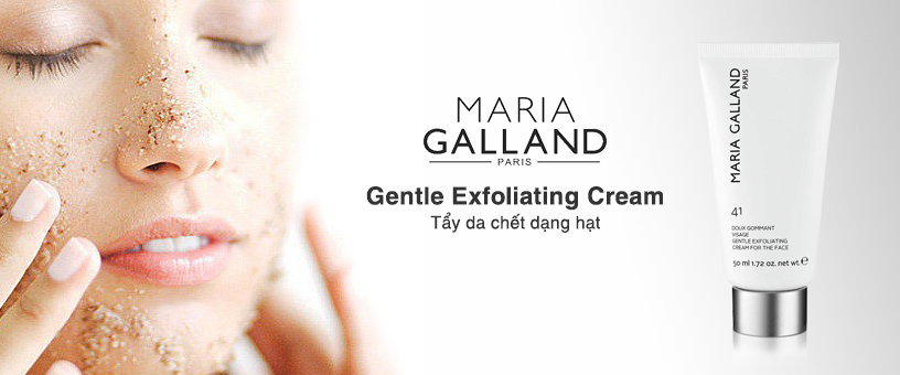 Kem tẩy tế bào chết Maria Galland Gentle Exfoliating Cream For The Face